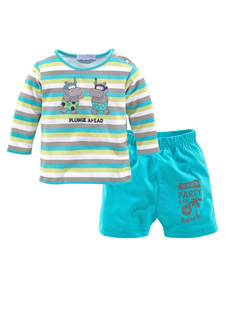 Комплект, 2 части: футболка + шорты KLITZEKLEIN