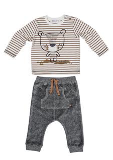 Комплект: брюки + джемпер Babaluno