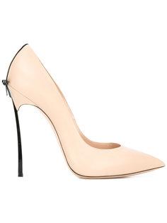 туфли с бантом Casadei