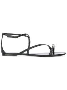 сандалии с ремешком на щиколотке Casadei