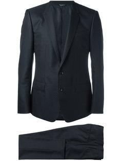классический костюм с узором Dolce & Gabbana
