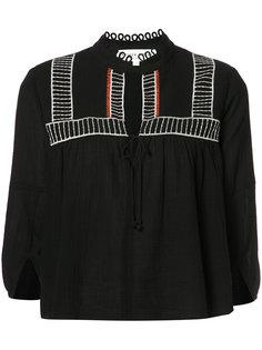 укороченная блузка Apiece Apart