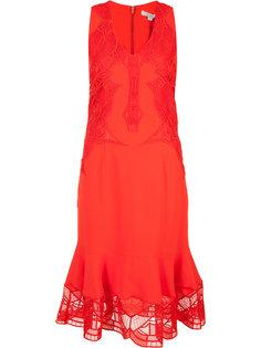 платье с оборочным подолом Jonathan Simkhai
