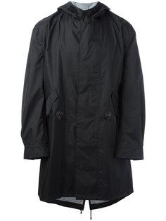 пальто с капюшоном Junya Watanabe Comme Des Garçons Man