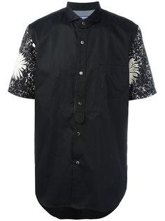 рубашка с контрастными рукавами Junya Watanabe Comme Des Garçons Man