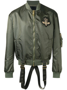 куртка-бомбер с лямками Les Hommes