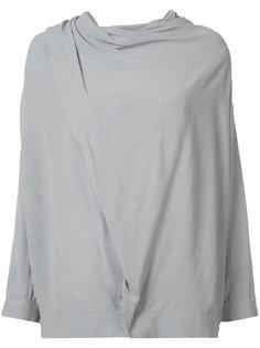 драпированная блузка Just Female