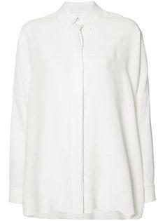 рубашка с необработанными краями Mm6 Maison Margiela