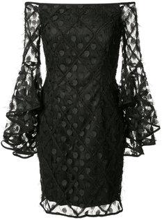 платье с открытыми плечами Milly