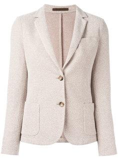 удлиненный однобортный пиджак  Eleventy