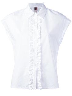рубашка с оборчатой планкой IM Isola Marras