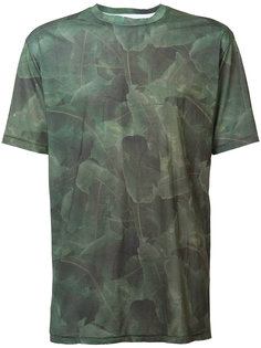 palm print T-shirt Baja East