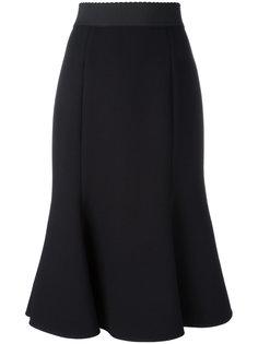 юбка с расклешенным подолом Dolce & Gabbana