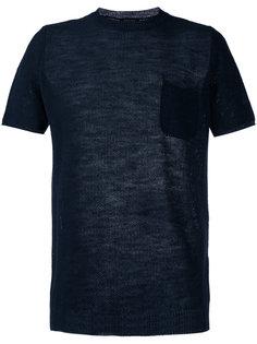 футболка с перфорацией Roberto Collina