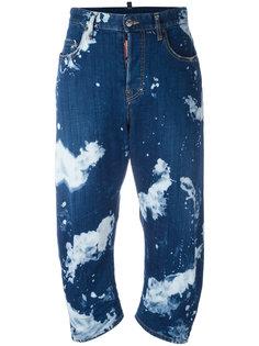 джинсы Tasche Maculato Dsquared2