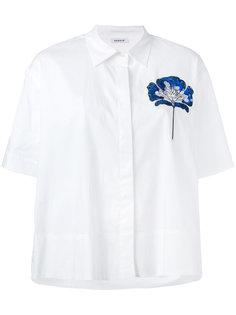 рубашка с блестящим цветком P.A.R.O.S.H.