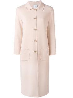 классическое пальто на пуговицах Agnona