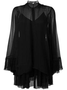платье с завязками у шеи McQ Alexander McQueen