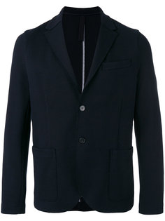 patch pockets blazer Harris Wharf London