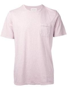 футболка с карманом с клапаном Oliver Spencer