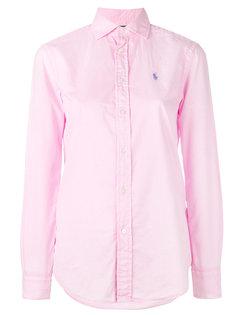 классическая рубашка с логотипом Polo Ralph Lauren
