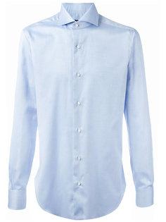 рубашка с плиссированными манжетами Barba
