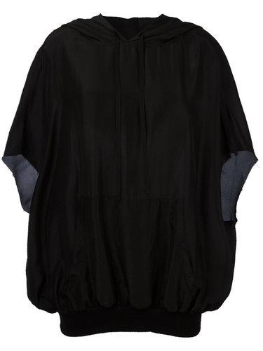 блузка с капюшоном  Unravel Project