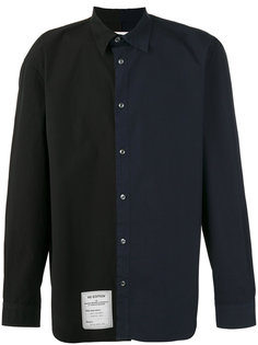 асимметричная рубашка Maison Margiela
