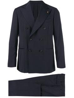 костюм с двубортным пиджаком Gabriele Pasini