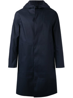 hooded raincoat Mackintosh
