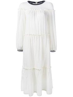 платье с оборками Mother Of Pearl