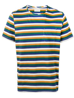 triple stripe T-shirt Oliver Spencer