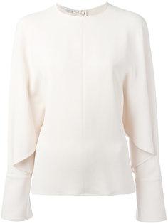 блузка с драпировкой Stella McCartney
