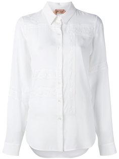 рубашка с кружевными вставками Nº21