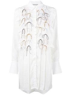 платье-рубашка с бантиками Marco De Vincenzo