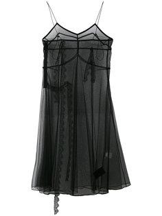 прозрачное платье шифт Quetsche