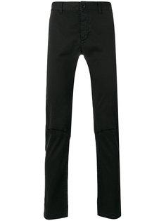 рваные брюки Saint Laurent