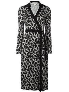 платье с запахом и принтом  Diane Von Furstenberg