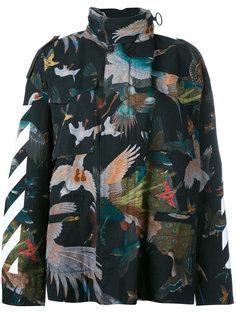 куртка Birds Diagonal Off-White