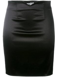 strapped back fitted skirt Jeremy Scott
