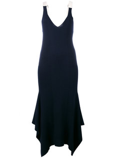платье с V-образным вырезом Alexander Wang