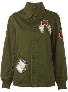 куртка с нашивками  Opening Ceremony
