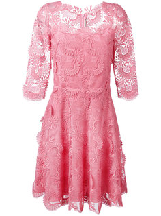 кружевное платье шифт Ermanno Scervino