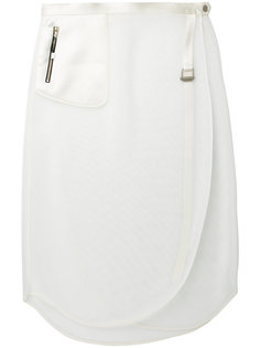 perforated wrap skirt The Reracs