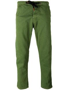 брюки со шнурком Bleu De Paname