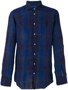 plaid shirt  Massimo Alba