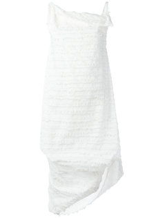 fringed asymmetric dress Vivienne Westwood Anglomania
