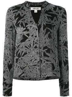 рубашка с абстрактным принтом Diane Von Furstenberg