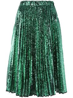 плиссированная юбка с пайетками Nº21