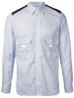рубашка с передними карманами Junya Watanabe Comme Des Garçons Man